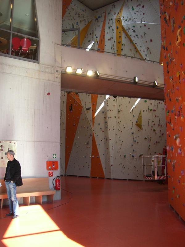 Beratung zur Estrichfeuchte im DAV Kletterzentrum in Gilching