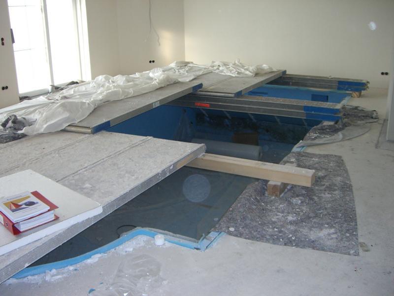 Gutachten zu einem Calciumsulfatestrich im Nassbereich in einem Wohnhaus in Obermemmingen